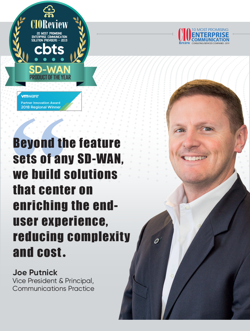 CBTS Awarded CIO Review SD-WAN Product of the Year